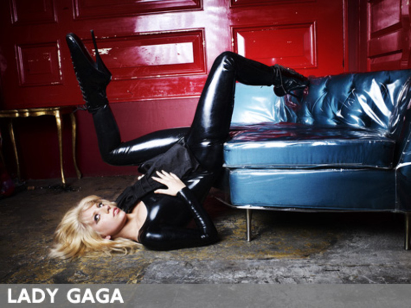 lady gaga poker face album artwork. and Kanye West Lady Gaga